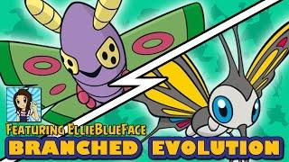 Dustox vs Beautifly   Pokémon Branched Evolution (ft EllieBlueFace)