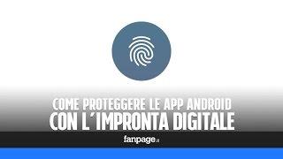 Come proteggere le app Android con l'impronta digitale screenshot 1