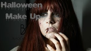 Halloween Makeup | Black Velour |