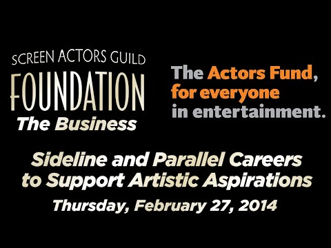 The Business: Sideline and Parallel Careers to Support Artistic Aspirations