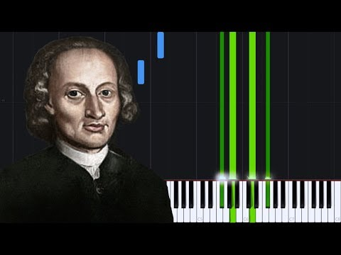 Canon in D  Johann Pachelbel Piano Tutorial Synthesia  Tobias Holm