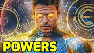 Eternals   All Powers Explained [WAY MORE POWERFUL THAN THE AVENGERS]