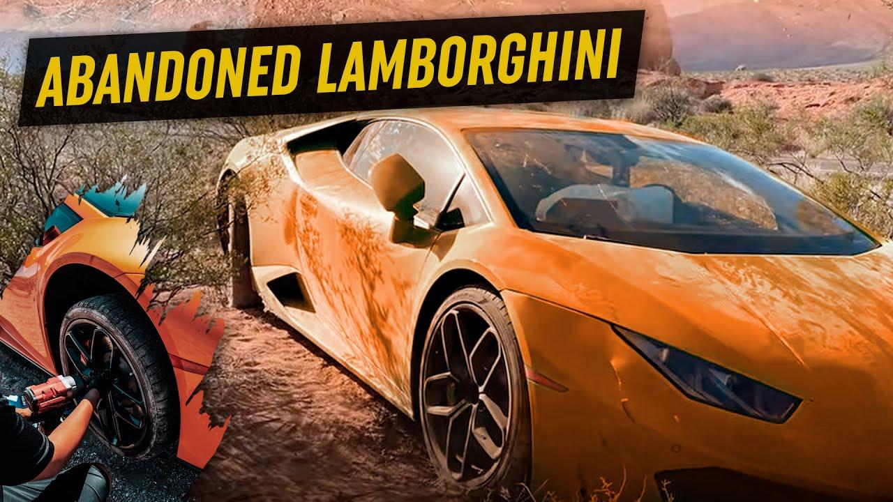 I Found An Abandoned Lamborghini in the Desert