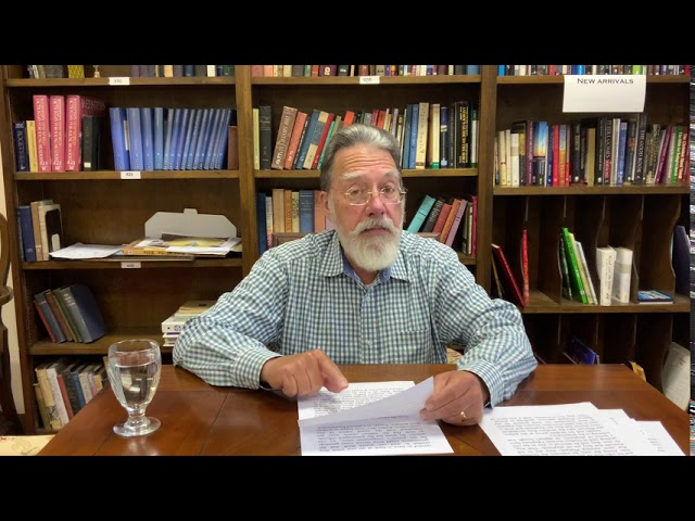 Bible Study with Bill Stahl - 14 Joseph part 3