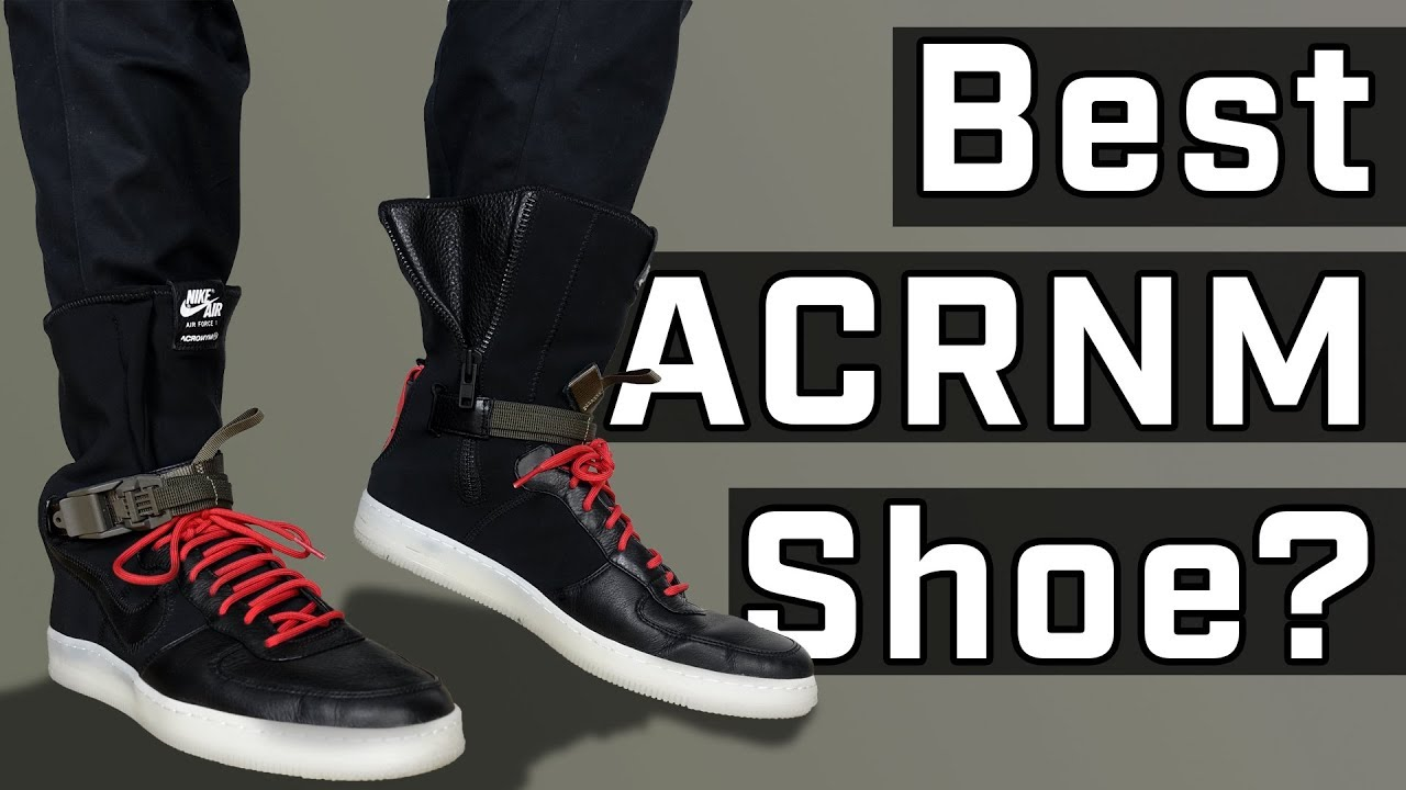 Acronym x Nike Downtown Air Force 1 REVIEW