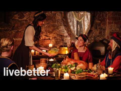 Medieval cheerful folk music | Irish celtic party with harmonica and bagpipes