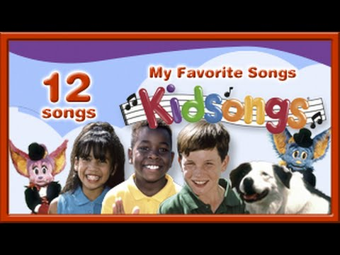 Kidsongs: My Favorite Songs| Nursery Rhymes | 5 Little Monkeys | Old MacDonald |1 2 3 | PBS Kids |