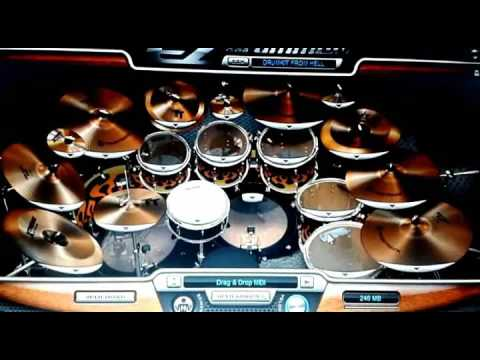 Romaria-malu sama kucing(cover drum ezdrum)