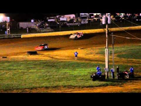 Bluegrass Speedway Late Model Feature 9-25-2010