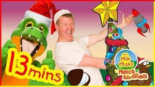 Jingle Bells and More | Christmas Kids Songs and Nursery Rhymes