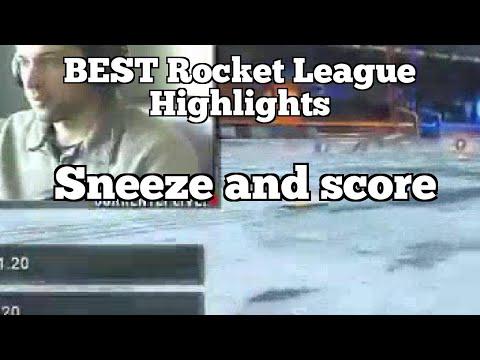 BEST Rocket League Highlights: Sneeze and score thumbnail