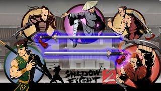 МЕЧИ ОТШЕЛЬНИКА ПРОТИВ ВСЕХ ТЕЛОХРАНИТЕЛЕЙ В ЗАТМЕНИИ - Shadow Fight 2 (БОЙ С ТЕНЬЮ 2) ПРОХОЖДЕНИЕ