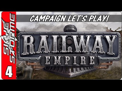 Railway Empire Campaign - Let's Play / Gameplay - Episode 4 - 1850 The Mississippi Part 1