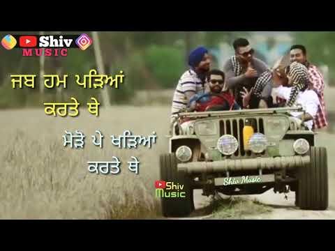 Sare Class Di Topper 🎓  Cute WhatsApp Status Video    Punjabi Status 2018    Shiv Music