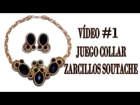 54c7a8030d5a COMO HACER COLLAR SOUTACHE  1   HOW TO MAKE SOUTACHE NECKLACE by Crea tu  Bisutería