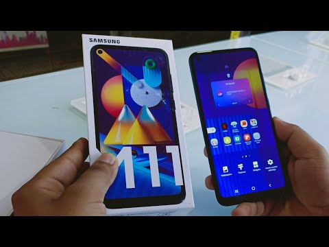 Samsung M11 Metallic Blue Unboxing & First Look !! Samsung M11 Price & Specifications