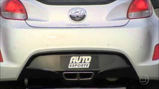 Auto Esporte testa o Hyundai Veloster(Modelo esportivo da Hyundai é um dos lançamentos mais esperados para 2012., 2011-09-26T15:03:19.000Z)