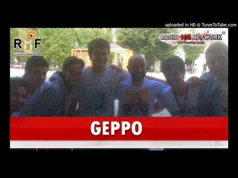 Geppo, del Geppo Show, intervistato da Radio 108 Network al Roma Web Fest 2016
