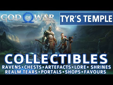 God of War - Tyr's Temple All Collectible Locations (Favor: The Anatomy of Hope) - 100%