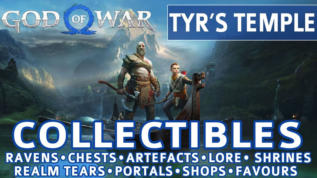 God of War - Tyr's Temple All Collectible Locations (Ravens, Chests,  Artefacts, Shrines) - 100%