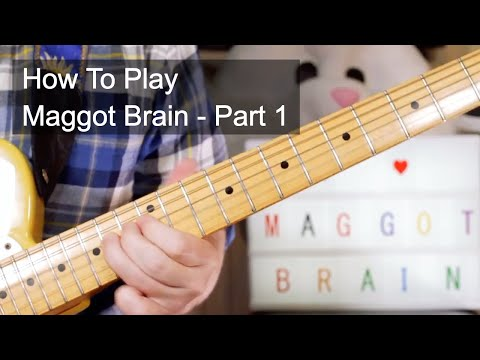 Maggot Brain Part 1   Funkadelic Guitar Lesson
