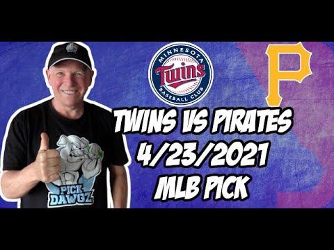 Minnesota Twins vs Pittsburgh Pirates 4/23/21 MLB Pick and Prediction MLB Tips Betting Pick