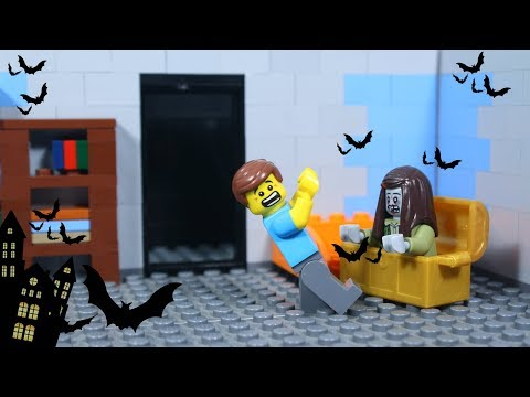 Lego Haunted House No Escape - The Ghost Animation