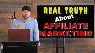 Gambar cover Real Truth About Affiliate Marketing