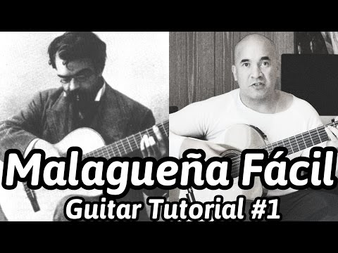 Malagueña Fácil | Francisco Tárrega | Classical Guitar Tutorial#1 (of 2) | NBN Guitar