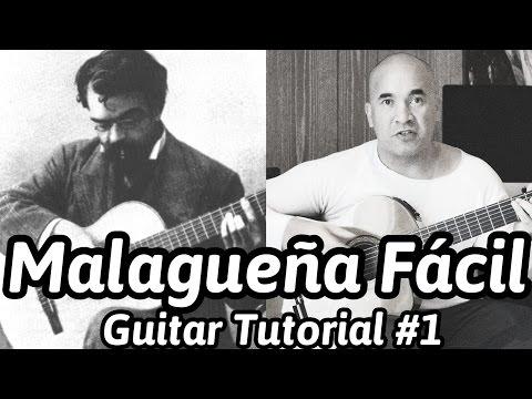 Malagueña Fácil | Francisco Tárrega | Classical Guitar Tutorial#1 (of 2) | NBN Guitar