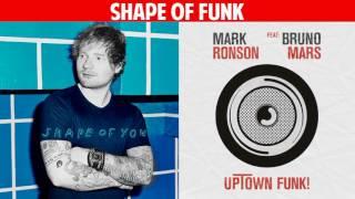 Shape of You vs. Uptown Funk (Mashup) - Ed Sheeran, Bruno Mars, Mark Ronson