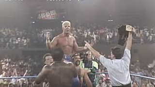 Sting's First Championship Win at Great American Bash 1990