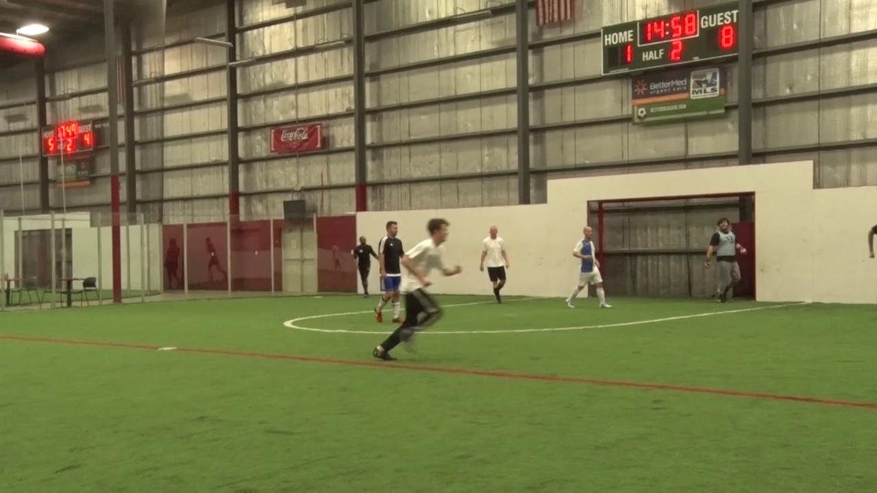 16913cc9d Eli Ruckman Off the Wall Indoor Soccer Assist (Lit FC vs. Havoc FC ...
