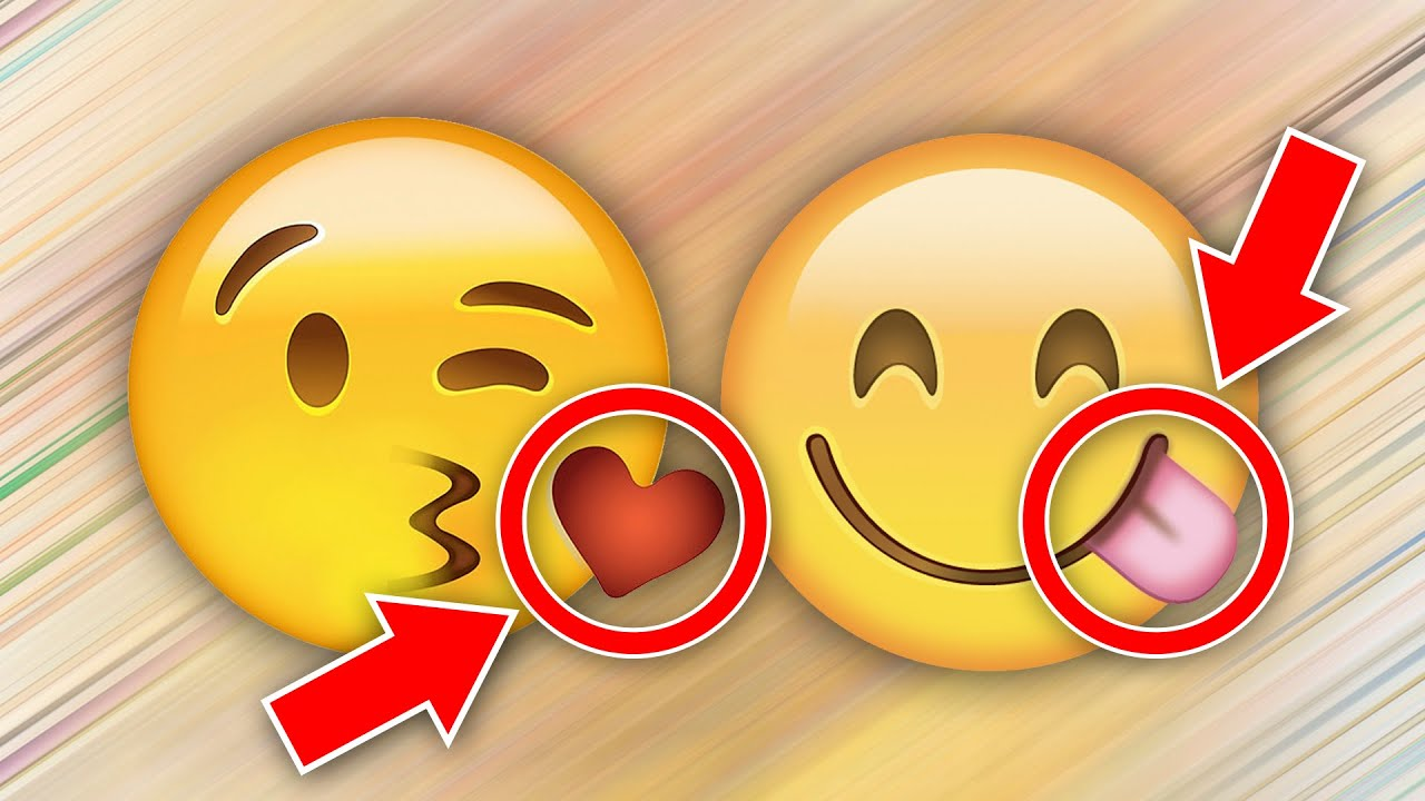 10 Hidden Meanings Of Emojis Youtube