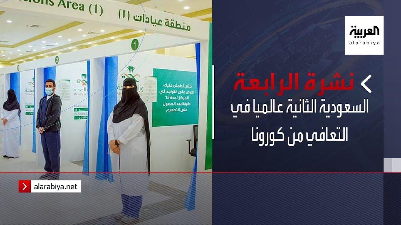 نشرة الرابعة كاملة | السعودية الثانية عالميا في التعافي من كورونا  - 13:54-2021 / 9 / 22