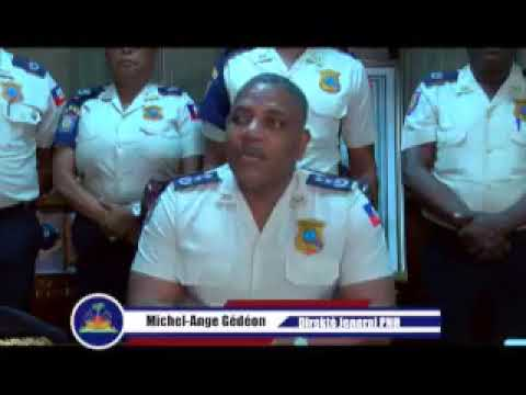 Port-AU-Prince, on 15 October 2018.- The Director-General of the Haitian National Police