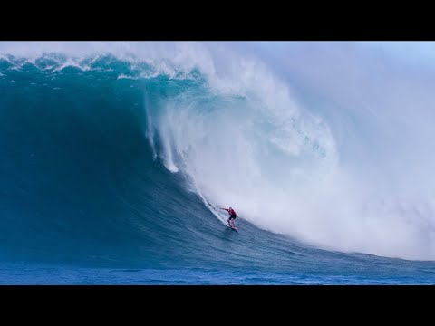 SURFING THE BIGGEST WAVE OF MY LIFE (SWELL OF THE CENTURY)