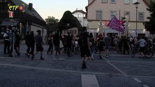 """""""Wir haben Platz!""""-Demo für die Aufnahme von Flüchtlingen aus Moria"""