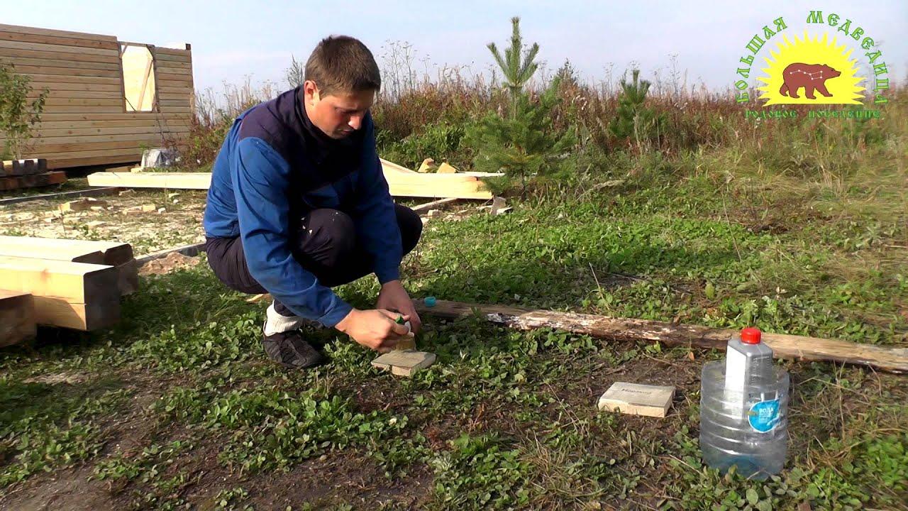 Обработка древесины от грибка и плесени хлором