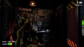 Five Nights At Freddy´s #2 ´´Easter Egg Golden Freddy's ``(pt-BR)