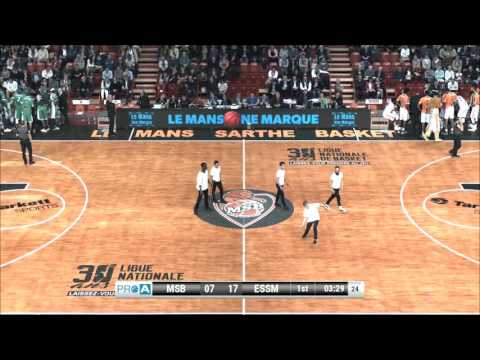 Darrin Dorsey #10 of Le Portel vs. Le Mans full game France Pro A