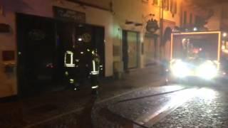 Incendio presso Zimar capelli in via Teodoro