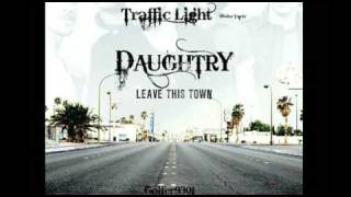 Traffic Light - Daughtry - Leave This Town HQ w/ Lyrics *NEW