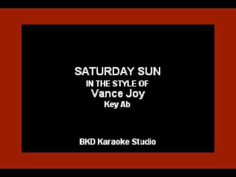 Joy Vance - Saturday Sun (Karaoke with Lyrics)