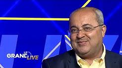 Ahmed Tibi, député arabe israélien, au micro d'i24NEWS