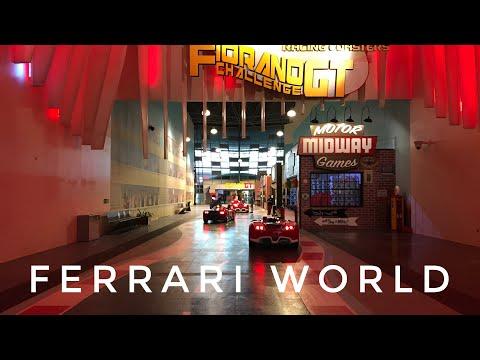 Ferrari World, Abu Dhabi, November 2020