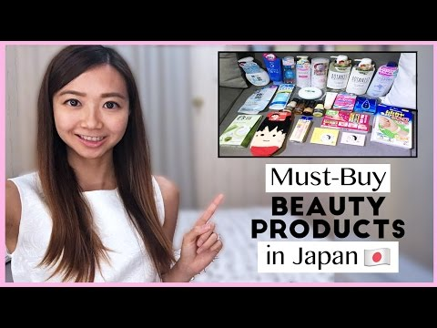 Must-Buy Beauty Products - Japan | AskAshley
