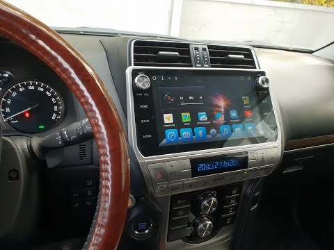 Магнитола для Toyota Prado 2018 с Круговым обзором