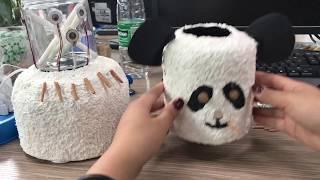 e01 diy panda humidifier in office so easy   ms do