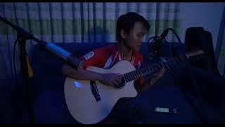 Đắp Mộ Cuộc Tình | Đan Nguyên | guitar solo Mitxi Tòng